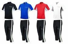 AIRTRACKS LAUFSET: FUNKTIONS LAUFHOSE TIGHT 3/4 LANG + FUNKTIONS T-SHIRT KURZARM