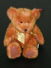NWT Russ Berrie TINKER Orange Bear From the Past 4677