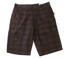 Guess Jeans Brown Plaid Shorts NWT $59