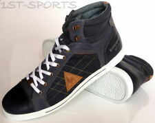 LE COQ SPORTIF MENS TRAINERS, SHOES, ORLEAN MID UK 9 to 10.5 DENIM BLUE