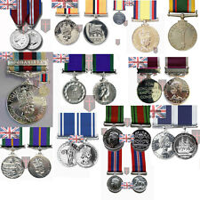 Large Selection of Official Miniature Medals with Ribbon ( WW2 Diamond Herrick