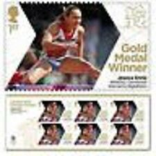 OLYMPICS 2012 TEAM GB GOLD MEDAL WINNERS COMMEMORATIVE STAMPS