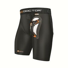 Shock Doctor Ultra Compression Short with Ultra Carbon Flex Cup 225, Tiefschutz