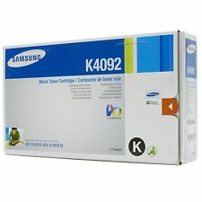 Samsung Black Original OEM Laser Toner Cartridge CLT-K4092S, 1500 Pages