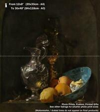 Still Life With Silver Jug Willem Kalf 1657 Art Photo /Poster Repro Print Many S