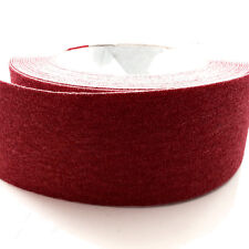 RED HIGH GRIP ANTI SLIP TAPE  ADHESIVE BACKED NON SLIP TAPE