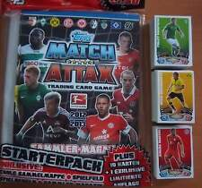 MATCH ATTAX 2012-2013 - KOMPLETT-SETS - Basis Karten - Star-Spieler - Wappen