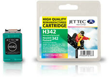 Remanufactured Jettec HP342 Tri-Colour Ink Cartridge for Photosmart 7850 & more