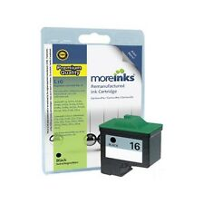 Remanufactured No.16 Black Ink Cartridge for Lexmark Z13 Printer & more