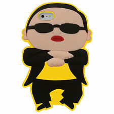 New iPhone 5 Gangnam Style PSY Case Silicone Rubber