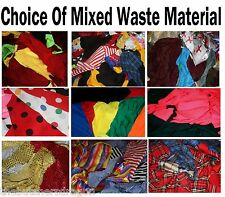 Sewing Scrap Pieces Craft Material 4 Rag Rugs Art Bags Raggy Dolls Clothes