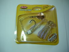 """BERKLEY BEETLE SPIN MULLET BSMU5 FISHING BAITS 5"""" ALL COLOURS (3 per pack)"""