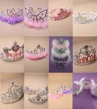 PACK OF 12 CHILDREN'S TIARA, CROWN, FANCY DRESS, PRINCESS, PARTY, BIRTHDAY