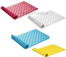 BUBBLE BATH BATHROOM SHOWER MAT RUG ANTI NON SLIP SUCTION CUPS RUBBER SAFETY