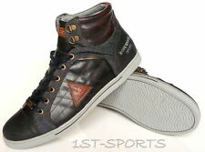 LE COQ SPORTIF MENS TRAINERS, SHOES, ORLEANS MID LEATHER DENIM UK 9.5 to 11