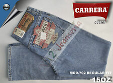 Carrera Jeans 5 Tasche Mod. 702 Regular Fit doppio Stone wash  Zip Front 15 Oz