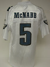 NEW Mens REEBOK Donovan MCNABB #5 White Home Phila EAGLES NFL Football Jersey