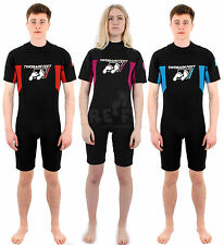 Two Bare Feet SIGNATURE SHORTY Adults Wetsuit - New Surf Diving Mens Womens
