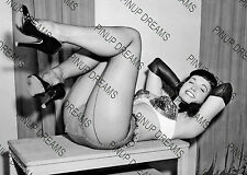 "Bettie Page Burlesque Movie Star Pin-up -set of 5 Photo's 4"" x 6"" or 5"" x 7"""
