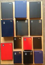 2016 HARDBACKED DIARY / DIARIES LETTS+NICEDAY A5+ A4 DAY PER PAGE + WEEK TO VIEW