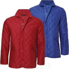 Mens Ladies Diamond Padded/Quilted Hunter Style Jacket Coat Sk-Rapid S-XXL