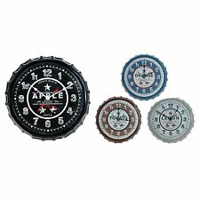 NOVELTY UNUSUAL DECORATIVE CAP DESIGN WALL KITCHEN CLOCK GIFT HOME ASSORTED