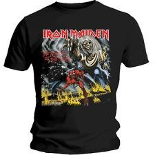 Official IRON MAIDEN Number Of The Beast T-shirt NEW All Sizes Run To The Hills