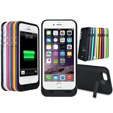 Portable Charger Case Charging External Battery Pack for Apple iPhone 5 5S / 6