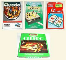 Vintage 1984 1994 1997 2005 Waddington Travel Cluedo Family Board Game Complete