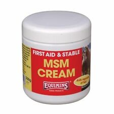 EQUIMINS MSM HEALER CREAM barrier muddy conditions anti bacterial soothing cuts