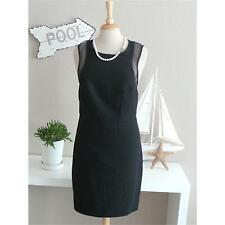 VERY by VERO MODA Etui Kleid PURE DRESS BLACK transparente Einsätze schwarz NEU