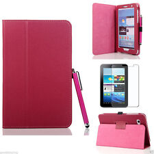 "Flip LEATHER Stand Case Cover for SAMSUNG Galaxy TAB 2 7"" 7.0 Inch P3100 P3110"