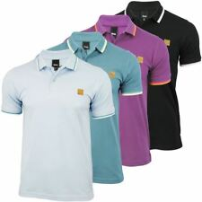 Bench Mens Polo T-Shirt 'Ponty' Cotton Pique Tipped Collar Short Sleeved