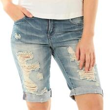 ONLY coole Jeans Shorts Hose Bermuda Denim destroyed Boyfriend ripped