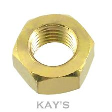 SOLID BRASS FULL HEXAGON NUTS FOR BOLTS & SCREWS M2,2.5,3,4,5,6,8,10,12,16,20