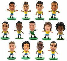 OFFICIAL FOOTBALL CLUB - BRASIL SoccerStarz Figures (All Players) World Cup