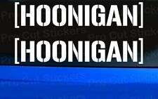 HOONIGAN Small to Large Sizes Vinyl Car Stickers Decals Ken Hooning Block JDM