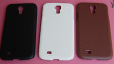 Stylish Leather finish Hard Case Cover for Samsung Galaxy S 4 / i9500 / i9505
