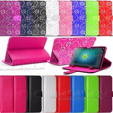 "New Universal Leather Stand Case Cover For 7"" 7 Inch Tab Android Tablet PC"