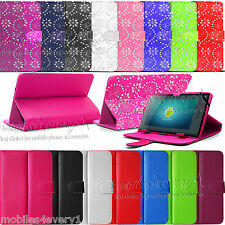 """New Stylish Luxury 7"""" 7 Inch PU Leather Tablet Pouch Case Cover For PC ePad"""