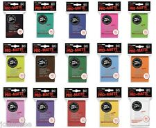 Card Sleeves x 60 Deck Protectors Ultra Pro Pro-Matte - Take Your Pick