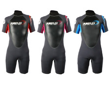 Two Bare Feet PUREFLEX Kids Wetsuit Shorty Short Childrens Suit