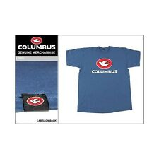 Cinelli Columbus Blue Fixie Cycle Race Bike T-shirt