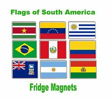 Flag of South America Fridge Magnets FREE POSTAGE