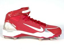 Nike Air Huarache LWP 90 Red Metal Baseball Cleats Softball Shoes Men's 15 NEW