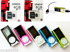 MP3 Reproductor Lector con Altavoz Radio FM Cable Carga Auriculares TF LCD 4011