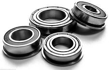 STAINLESS STEEL FLANGED Miniature BEARINGS sealed or shielded..SELECT SIZE