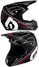 661 SIXSIXONE COMP MX MOTOCROSS HELMET BLACK / RED enduro bike new - MEGA DEAL