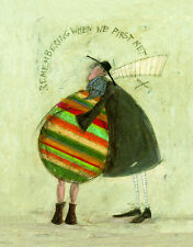 Sam Toft - Remembering WHEN WE First Met Estampa Con Marco Opciones O LONA