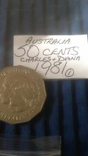 Australia 50 Cent Fifty Cents Coins